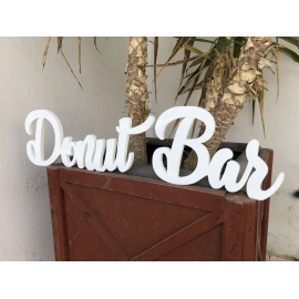Letras Donut Bar